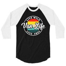 van life vêtements 3/4 Sleeve Shirt | Artistshot