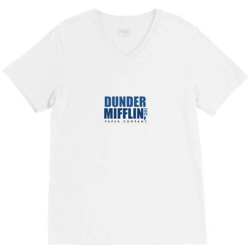 Dunder Mifflin V-neck Tee | Artistshot