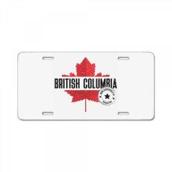 British Columbia - Princeton License Plate | Artistshot