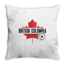 British Columbia - Princeton Throw Pillow | Artistshot