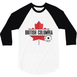 British Columbia - Princeton 3/4 Sleeve Shirt | Artistshot