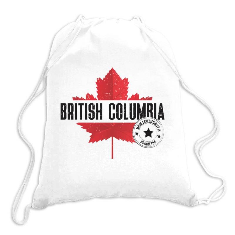 British Columbia - Princeton Drawstring Bags | Artistshot
