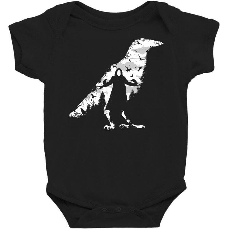 The Crow Baby Bodysuit   Artistshot
