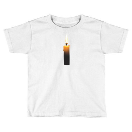 Romintic Candle T-shirts Toddler T-shirt Designed By Junaidk