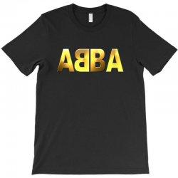 abba gold logo T-Shirt | Artistshot
