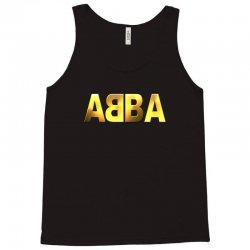 abba gold logo Tank Top | Artistshot