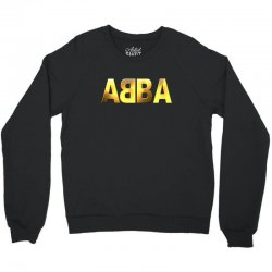 abba gold logo Crewneck Sweatshirt | Artistshot