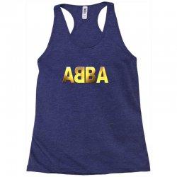 abba gold logo Racerback Tank | Artistshot