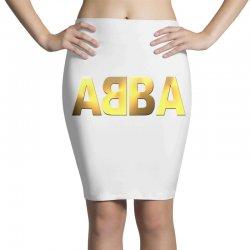 abba gold logo Pencil Skirts | Artistshot