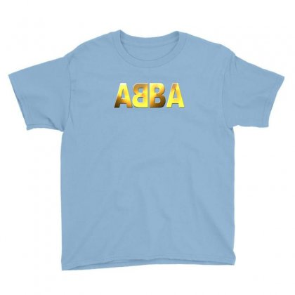 Abba Gold Logo Youth Tee Designed By Ysuryantini21