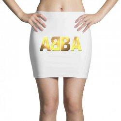 abba gold logo Mini Skirts | Artistshot
