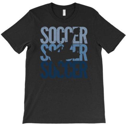 Soccer Evolution Vintage Retro Soccer    Sports Events T-shirt Designed By John Phillips