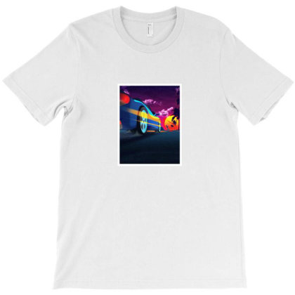 Outrun Retrowave T-shirt Designed By Agus Loli