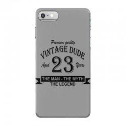 aged 23 years iPhone 7 Case | Artistshot