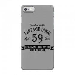 aged 59 years iPhone 7 Case | Artistshot