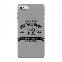 aged 72 years iPhone 7 Case | Artistshot