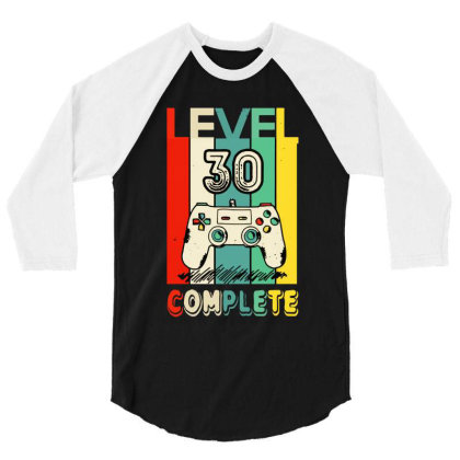 30 Anni Compleanno 3/4 Sleeve Shirt Designed By Nicole Tees