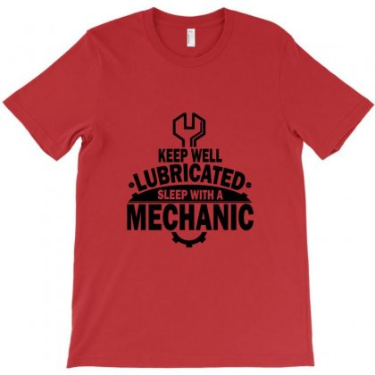Keep Well Lubricated Sleep With A Mechanic T-shirt Designed By Ysuryantini21