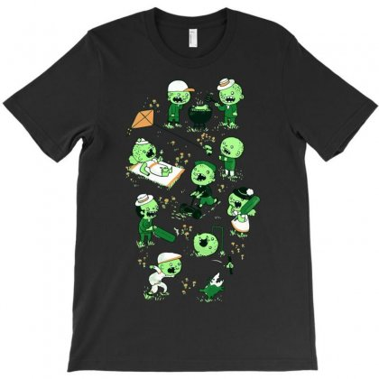 Lawn Of The Dead T-shirt Designed By Ysuryantini21