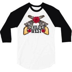 wild west 3/4 Sleeve Shirt | Artistshot