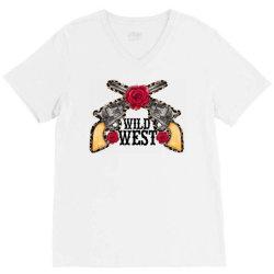 wild west V-Neck Tee | Artistshot