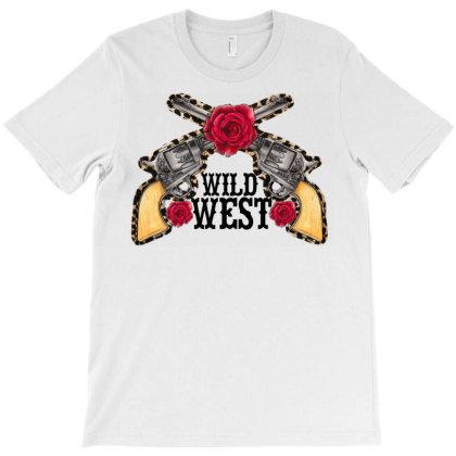 Wild West T-shirt Designed By Badaudesign