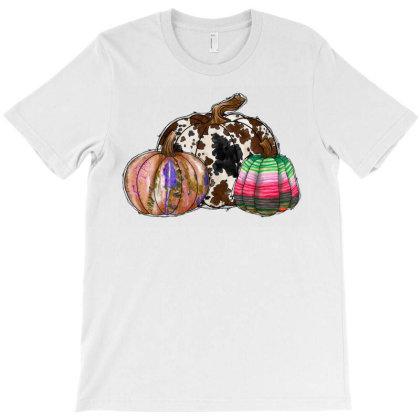 Western Pumpkin T-shirt Designed By Badaudesign