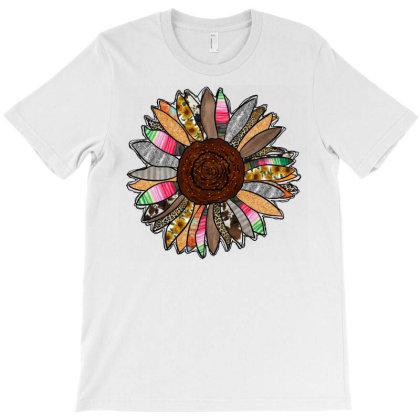 Western Sunflower T-shirt Designed By Badaudesign