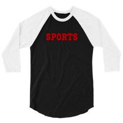 sports gift merch 3/4 Sleeve Shirt   Artistshot