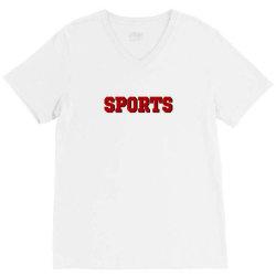 sports gift merch V-Neck Tee   Artistshot