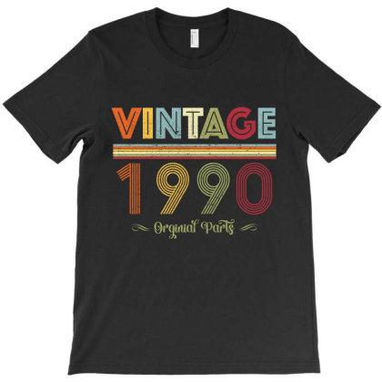 Vintagee 1990 Orginal Parts T-shirt Designed By Badaudesign