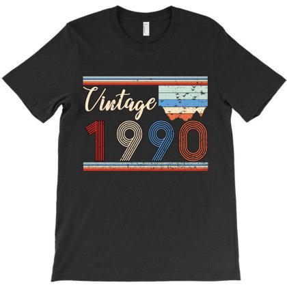 Vintage 1990 T-shirt Designed By Badaudesign