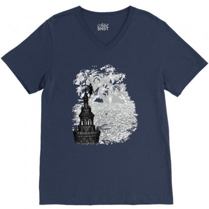 Rise Of The Goblin King V-neck Tee Designed By Ysuryantini21