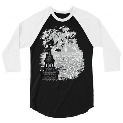 Rise Of The Goblin King 3/4 Sleeve Shirt Designed By Ysuryantini21