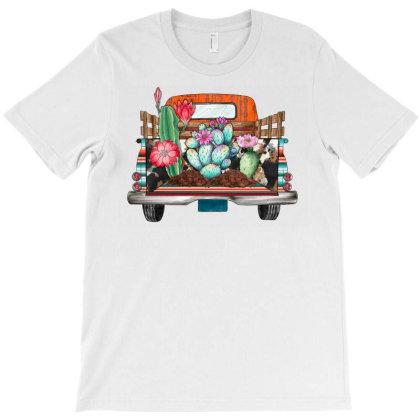 Cactus Truck T-shirt Designed By Badaudesign