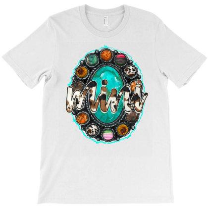 Mini Turquoise T-shirt Designed By Badaudesign