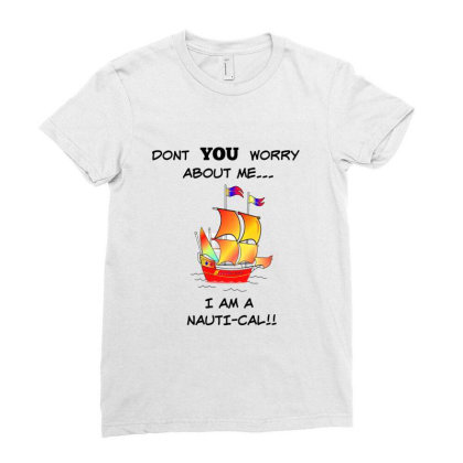 Boating 2 Ladies Fitted T-shirt Designed By Kanjala01