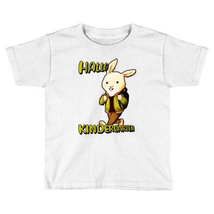 Hallo Kinderarten Kita Toddler T-shirt Designed By Sie Sie