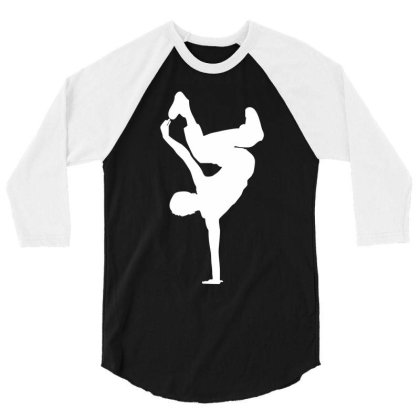 Breakdancer 3/4 Sleeve Shirt Designed By Dony_store