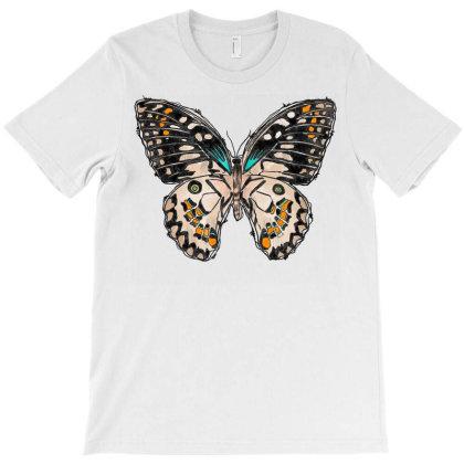 Butterfly T-shirt Designed By Badaudesign