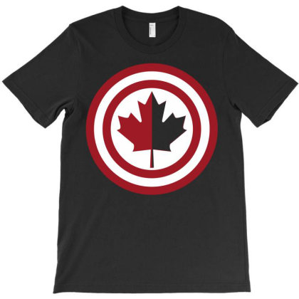 Captain Canada T-shirt Designed By Allentees