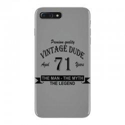 aged 71 years iPhone 7 Plus Case   Artistshot