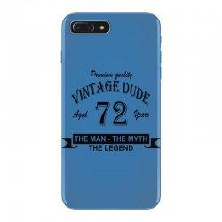aged 72 years iPhone 7 Plus Case | Artistshot