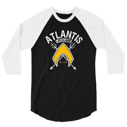 Atlantis Lifeguard 3/4 Sleeve Shirt Designed By Sotopedes