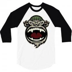 scream 3/4 Sleeve Shirt   Artistshot