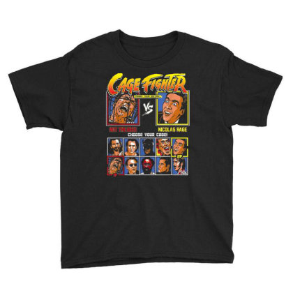 Cage Fighter - Not The Bees Vs Nicolas Rage Choose Your Cage Youth Tee Designed By Cuser0105