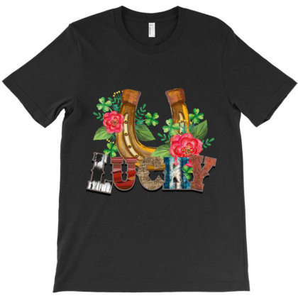 Lucky T-shirt Designed By Costom