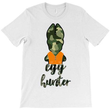 Egg Hunter T-shirt Designed By Costom