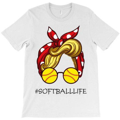 Softballlife T-shirt Designed By Costom