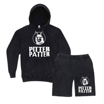 Letterkenny Pitter Patter Vintage Hoodie And Short Set Designed By Blqs Apparel